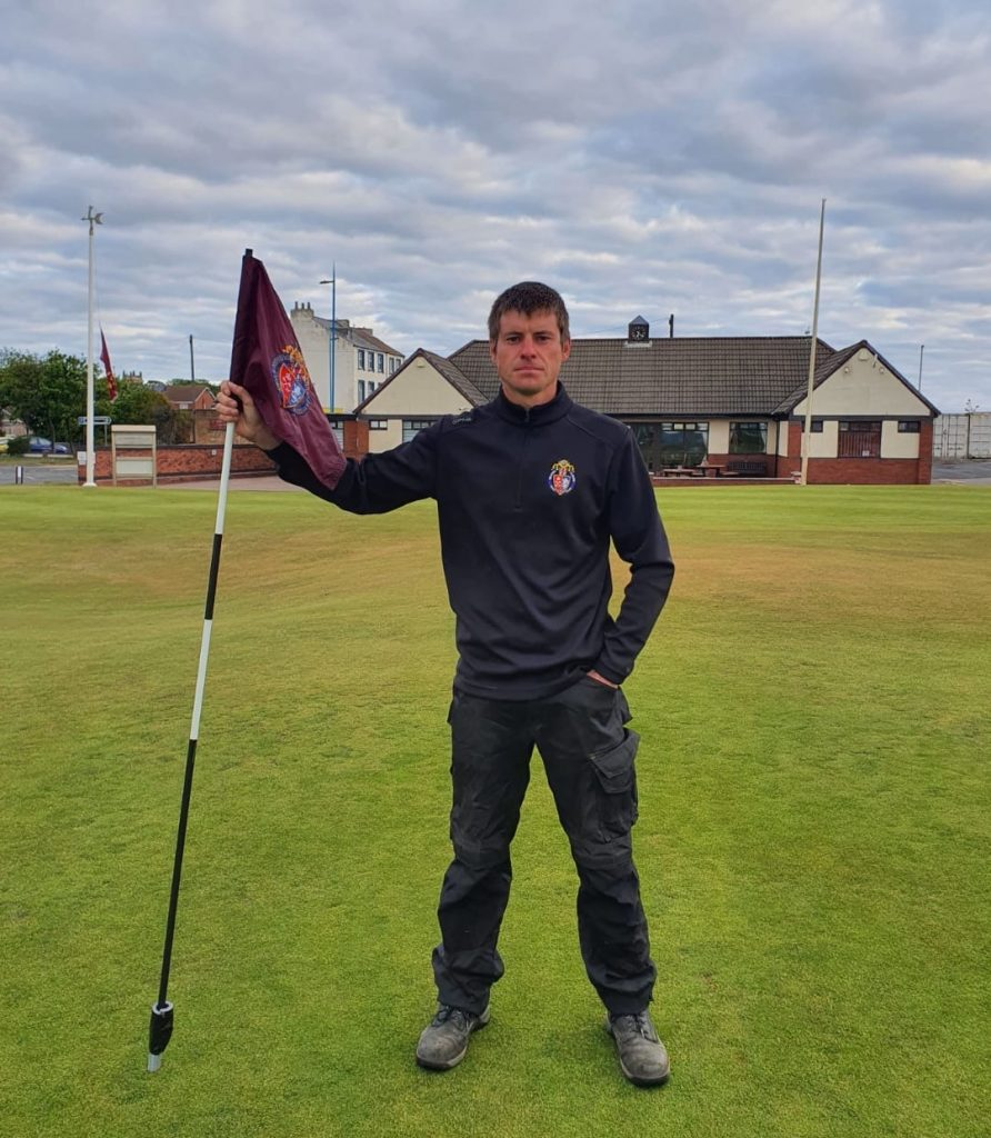 Historic golf links aiming big with new head greenkeeper
