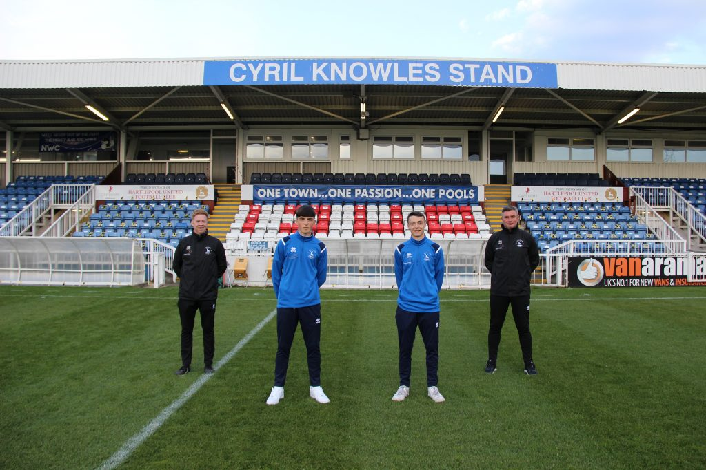 Hartlepool United's youth team to continue after linking up with local ...