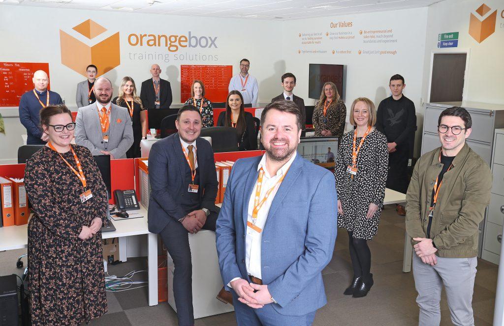 Hartlepool's Orangebox creates new jobs to help during pandemic