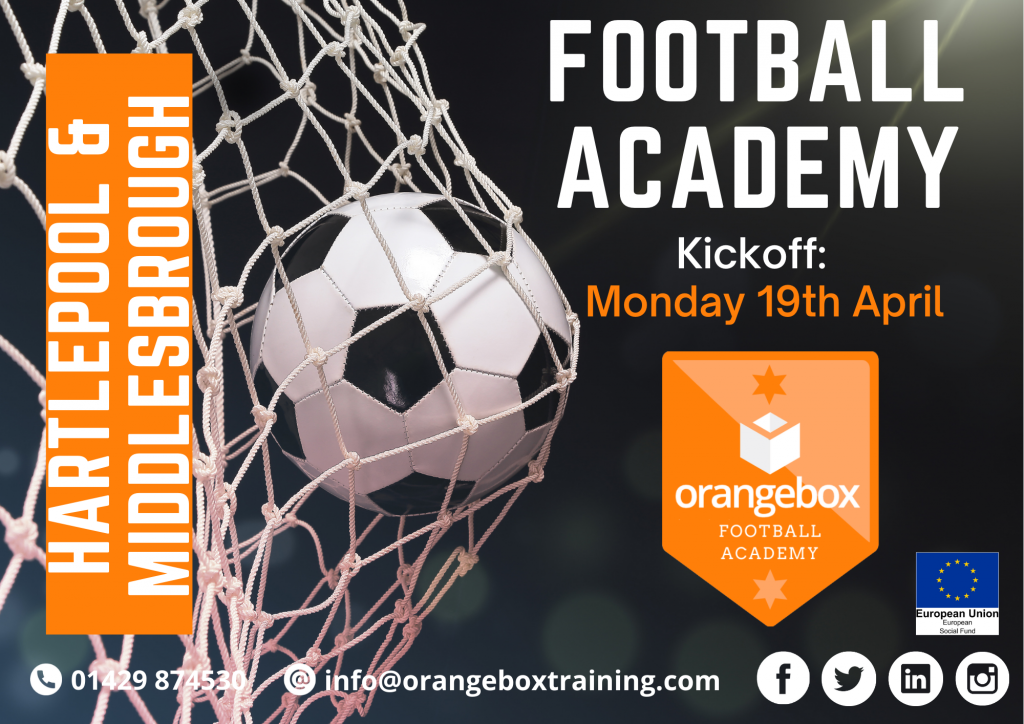 Orangebox Football Academy offers unemployed chance to shine