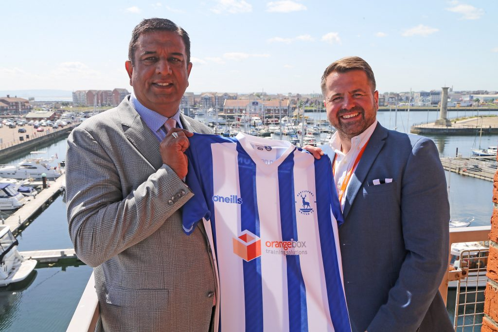 Orangebox Training Solutions move into new home and is Hartlepool new sponsor